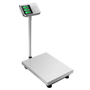 300kg 660lb Weight Price Computing Digital Floor Platform Scale Postal Shipping