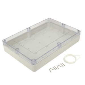 15 x10 2 x3 35 Abs Junction Box Electric Project Enclosure Clear
