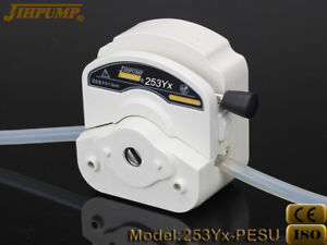 Easy Tubing Peristaltic Replacement Pump Head Wt2 4 Chemicals Anti Corrosive