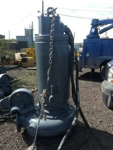 Used Flygt 3312 Submersible Pump