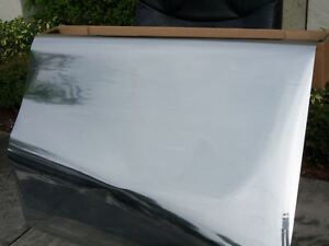 30 x50ft One Way Mirror Film Reflective Silver 15 Window Tint Film 30 Inch