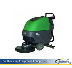 New Minuteman H20 Hospital Series Traction Driven Scrubber No Batteries