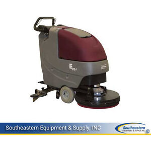 New Minuteman E20 Disc Traction Driven Auto Scrubber quickpack crown Batteries