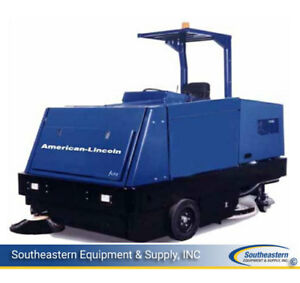 Reconditioned American Lincoln 7765 Sweeper Scrubber