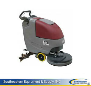 New Minuteman E20 Sport Disc Traction Driven Automatic Scrubber quickpack agm