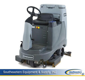 Reconditioned Advance Advenger 3400st Rider Floor Scrubber 34