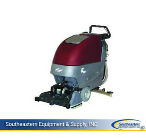 New Minuteman E20 Cylindrical Traction Driven Auto Scrubber quick Pack agm