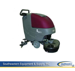 New Minuteman E26 Eco Disc Brush Automatic Scrubber Quick Pack Agm Batteries