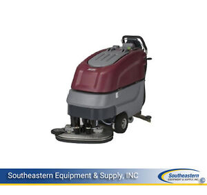 New Minuteman E30 Eco Disc Brush Automatic Scrubber Quick Pack Agm Batteries