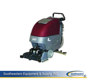 Demo Minuteman E20 Cylindrical Traction Drive Automatic Scrubber