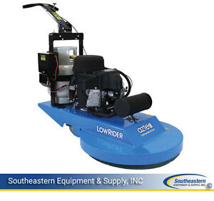 New Aztec Lowrider 21 Propane Burnisher W Dust Control