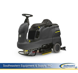 New Karcher B90radvbp Rideon Floor Scrubber some Parts Sold Separately