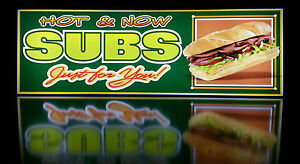 Business Led Lighted Box Sign Hot Now Subs