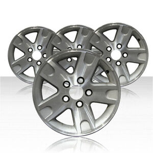 Revolve 16x7 Machined Sparkle Silver Wheel For 2002 11 Ford Ranger Set Of 4