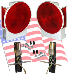 Drylaunch Boat Utility Trailer Submersible Tail Lights Dry Launch 701w Pair