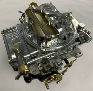 Holley Carburetor Bright Zinc 390cfm 8007
