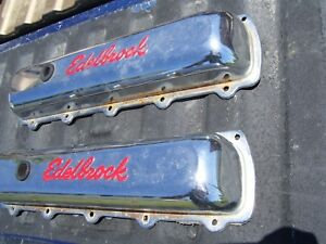 Edelbrock Signature Series Valve Cover Oldsmobile