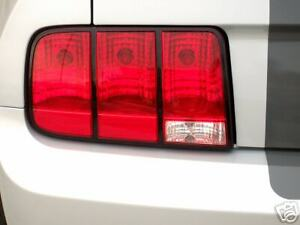 2005 2009 Ford Mustang Taillight Outlines Decals Vinyl Graphics Stickers