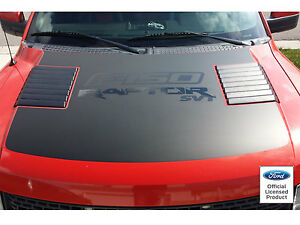 10 14 Ford Raptor Hood Graphics Simalar To Stock Decals Vinyl Sticker F 150 Svt