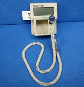 Welch Allyn 76751 Suretemp Thermometer With 02678 100 Oral Probe