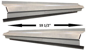 1984 01 Jeep Xj Cherokee Wagoneer 4dr Outer Rocker Panels Slip On Style Pair