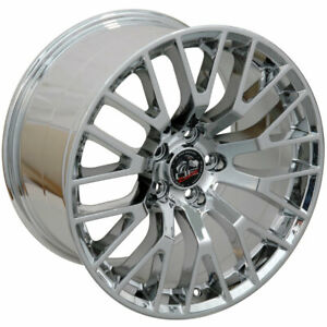 Chrome Wheel 19x10 2015 Gt Style For 2005 2018 Ford Mustang