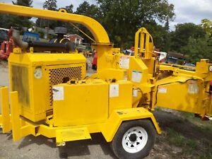 05 Brush Bandit 250 Xp Chipper Diesel Hdy Feed One Qwner