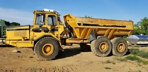 1990 Volvo A25 Articulating Off Road Dump Truck 6x6 Cab 7907 Hours Great Truck