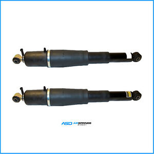Brand New Rear Air Suspension Shocks For Escalade Avalanche Suburban Tahoe Pair