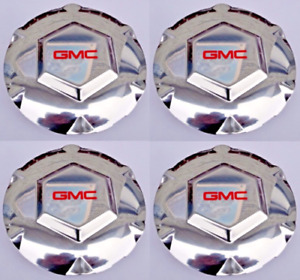 4x New 2002 2007 Gmc Envoy Xl Xuv 17 Wheel Hub Center Cap Oem 9593396