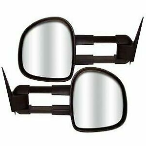 Cipa New Towing Mirrors Set Of 2 Driver Passenger Side For Chevy Suburban Pair