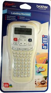 Brother Hand Held Label Maker Labelling Print Machine Tape Batteries H101c
