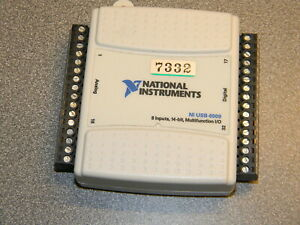 National Instruments Usb 6009 Data Acquisition Card 8 Input 16 Bit Multifuncti