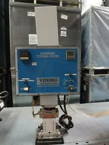 Young Technology 532 40 Bench Top Industrial Precision Thermal Press