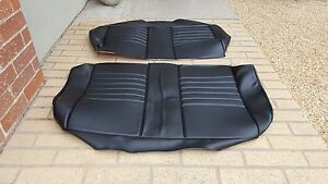 Bmw E21 320i 323i Rear Seat Kit Matching Recaro Seat Kit Oem German Vinyl New