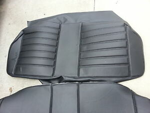 Bmw E21 320i 323i Rear Seats Kit Matching Recaro Seat Kit German Beautiful New