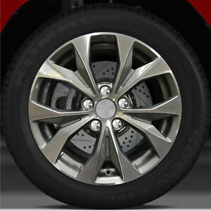17x7 Factory Wheel Dark Charcoal For 2012 2013 Honda Civic