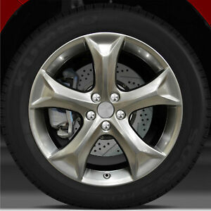 20x7 5 Factory Wheel Hyper Bright Smoked Silver For 2009 2015 Toyota Venza