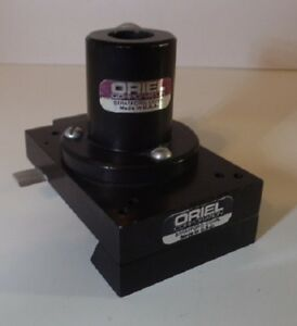 Oriel Instruments Dovetail Optical Rail Carrier With Post Holder 26mm