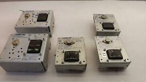 Lot Of 5 Power One Ihc5 6 ovp Ha24 0 5 a Hb24 1 2 a Power Supplies T223