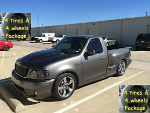 4 20 Ford Lightning Tires Wheels Rims Package Chrome Set Fits 97 04 F150