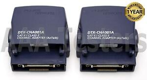 Fluke Networks Dtx cha001 Cat6 class E Channel Adapter Set For Dtx 1800 Dtx 1200