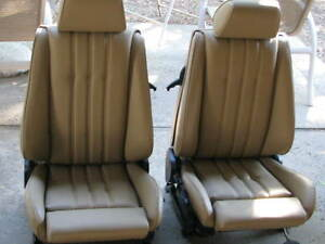 Bmw E30 325i 318i M3 Sport Seat Upolstery Kit Oem Natural Leather Kit New