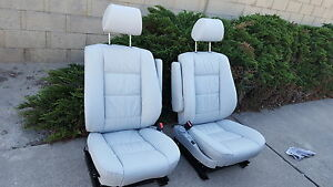 Bmw E34 E32 540i 535i 735i Comfort Seat Kit 88 95 Leather Upholstery Kit New
