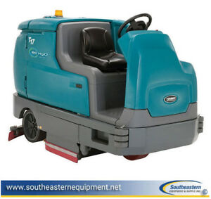 Reconditioned Tennant T17 Battery Floor Scrubber W Ec h2o