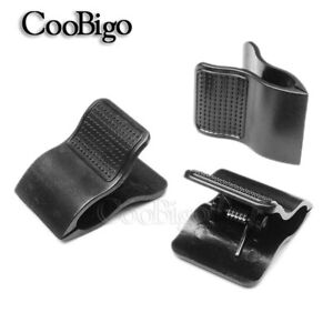 Plastic Black Spring Binder Clip For Paper Document Note Stationery Accessories
