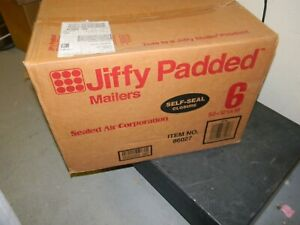 Sealed Air 86027 Jiffy Padded Self seal Mailer Side Seam 6 12 1 2x19 Case 50