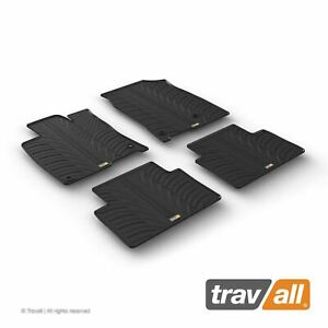 Travall Car Floor Mats All Weather Rubber Liner For Honda Civic 2015 on