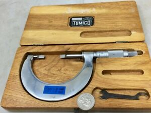 Vintage Tumico Tubular Micrometer Company 1 2 Blade Micrometer Free Shipping