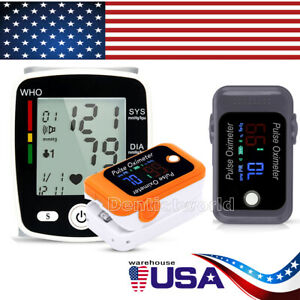 Blood Pressure Monitor With Voice pulse Oximeter Blood Oxygen Spo2 Bluetooth Us